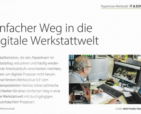 digitale Werkstattwelt