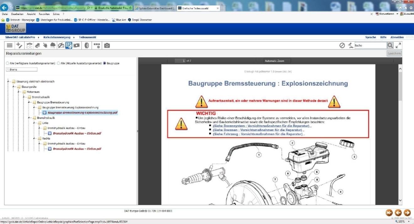 OEM-Reparaturanleitungen